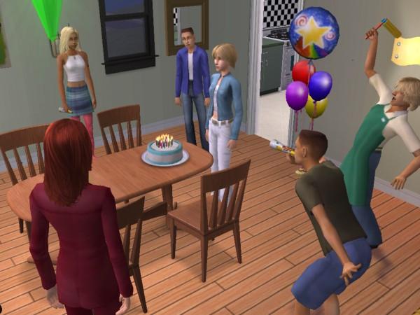 Ferris's birthday party