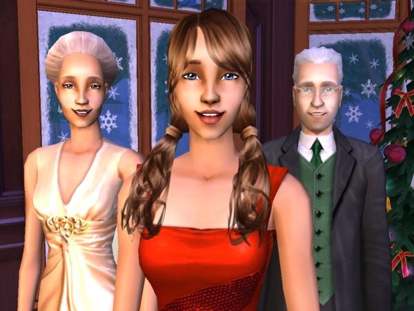 Camellia, Daisy, and Farley