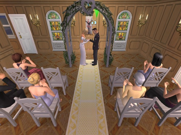 Joey and Bailey say their vows