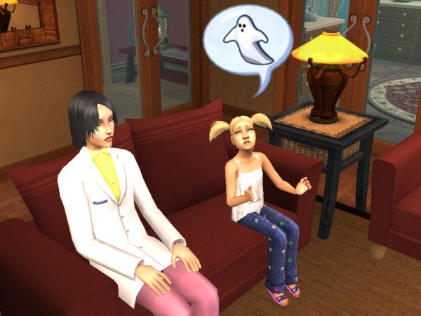 Tiffy and Shea watch TV