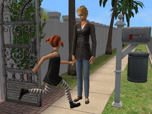 Ruby greets Delaney
