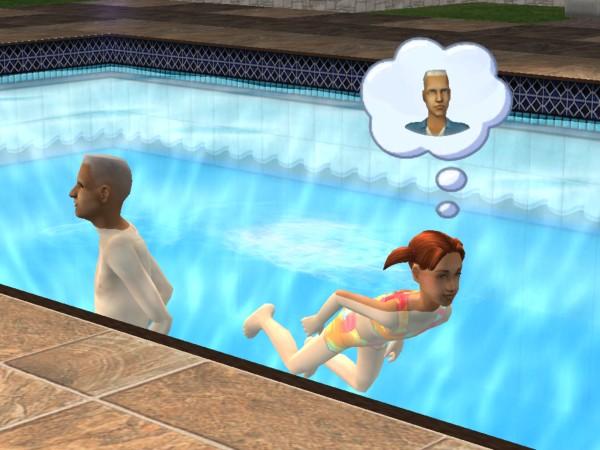 Ruby and Juan swim