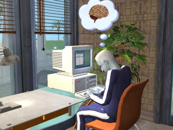 Juan writes about brains