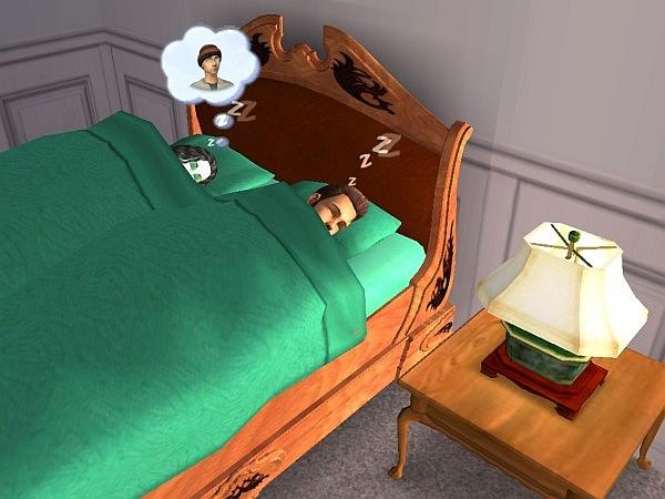 Cort and Cleo sleep