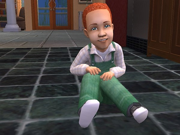 Parker as a toddler